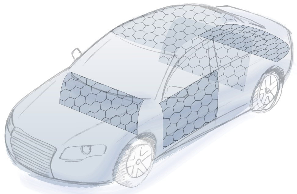 Automotive honeycomb applications