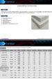 T-C Series PET Foam Core Technical Data