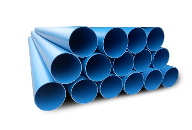RTP pipes for hot gas transmission