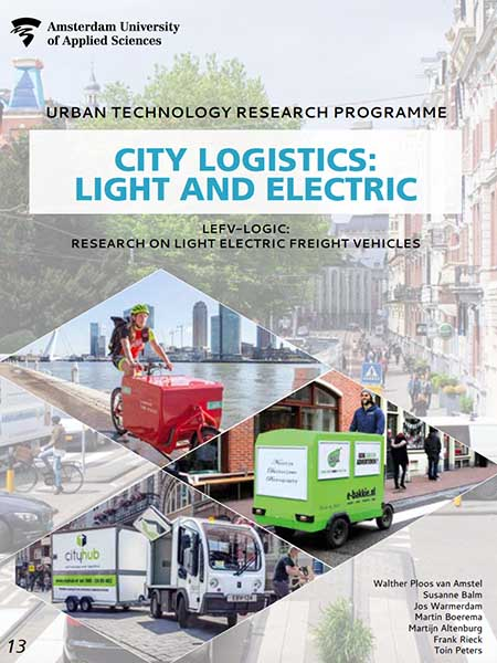 Light Electric Freight Vehicles in Amsterdam 2